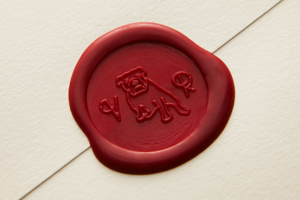 Custom Wax Seal Stamp - Bulldog