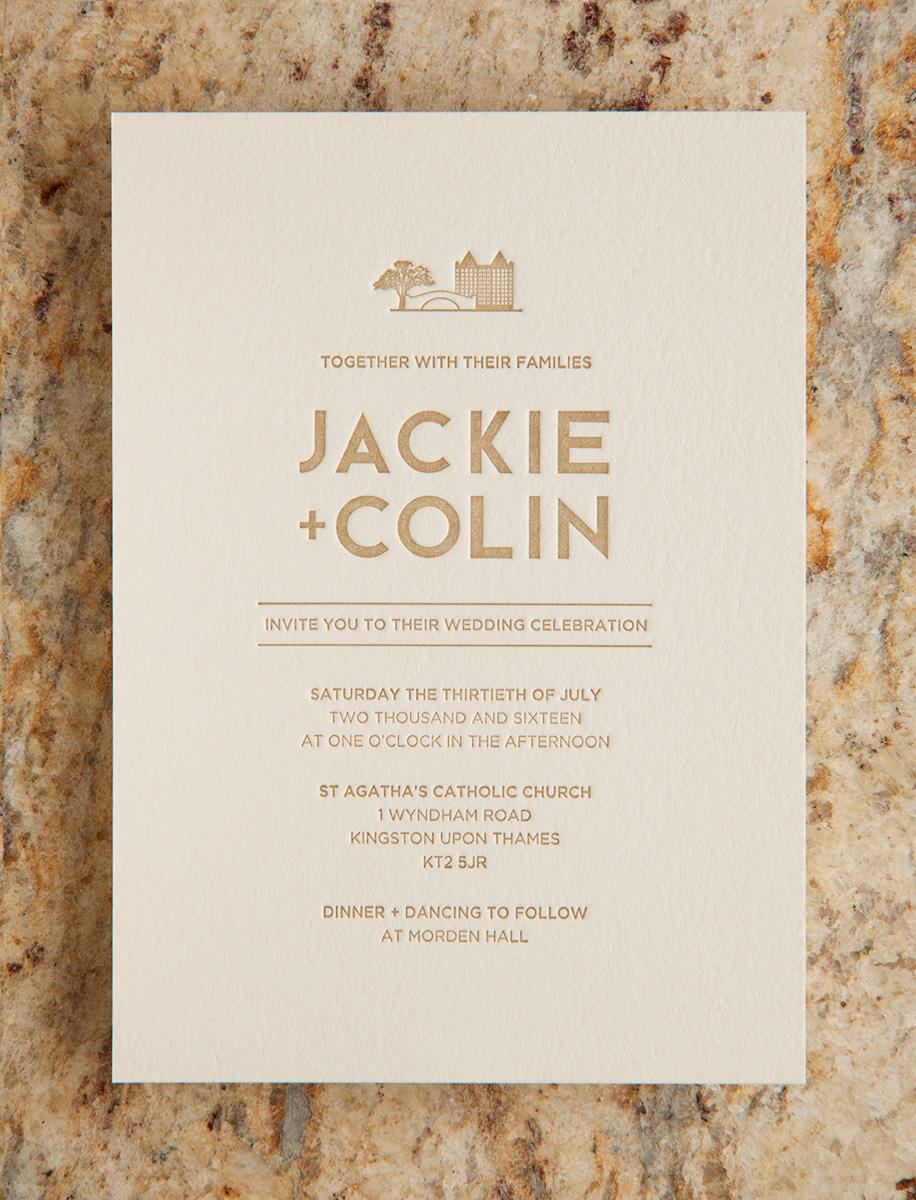 Jackie + Colin