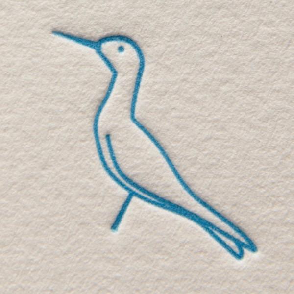 Simon the Seagull, Letterpress Motif